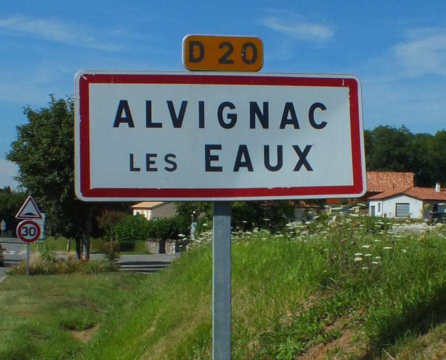 Communes - Alvignac - - Panneau du village de Alvignac