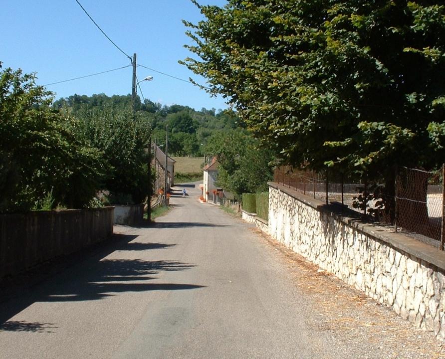 Rues & Ruelles - Bannes - Dans les rues du bourg -