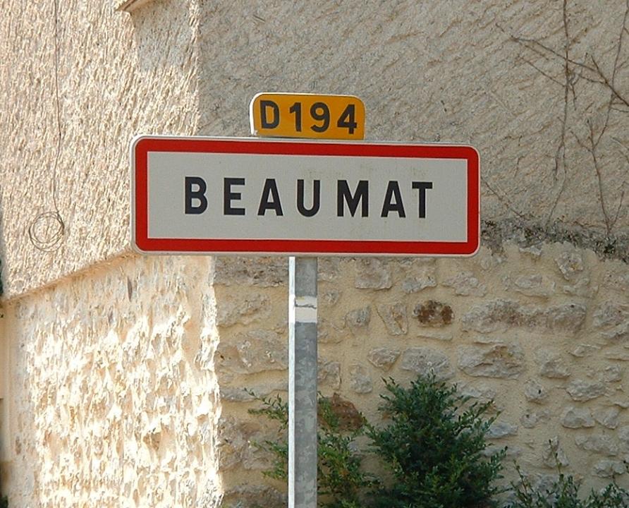 Communes - Beaumat (Cœur de Causse) - - Panneau du village de Beaumat (Cœur de Causse)