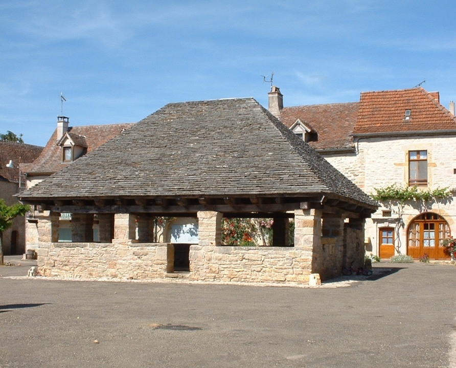 Halles - Beauregard - Halle (bourg) -