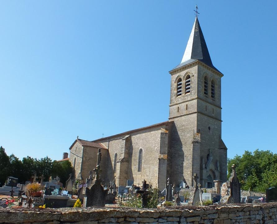 Églises & Abbayes - Beauregard - Église Notre-Dame de l'Assomption (bourg) -