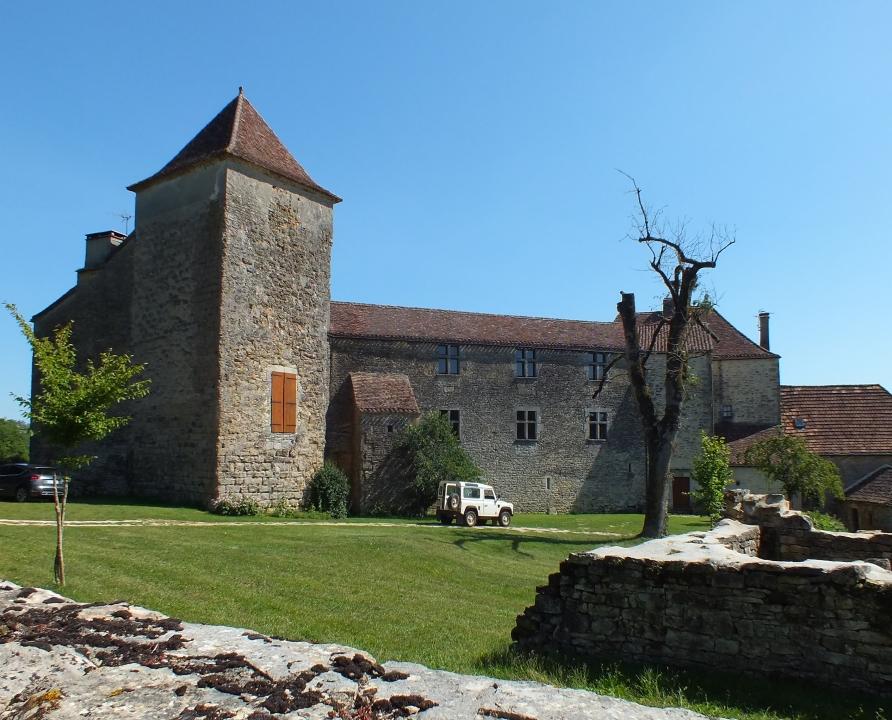 Châteaux & Fortifications - Beauregard - Château de Labastide-Marsa -