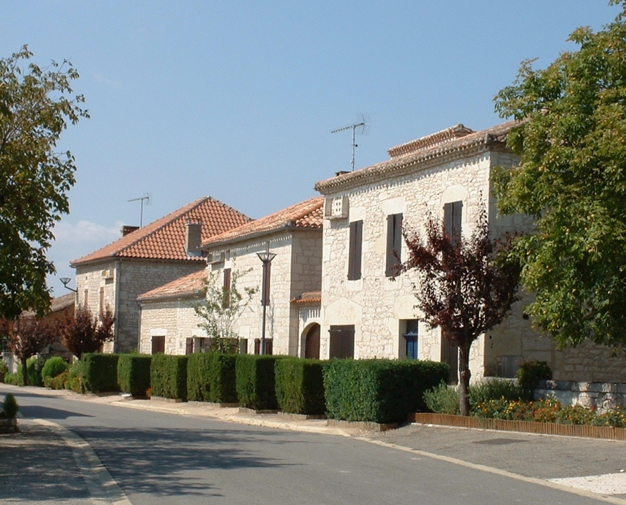 Rues & Ruelles - Belfort-du-Quercy - Dans les rues du bourg -