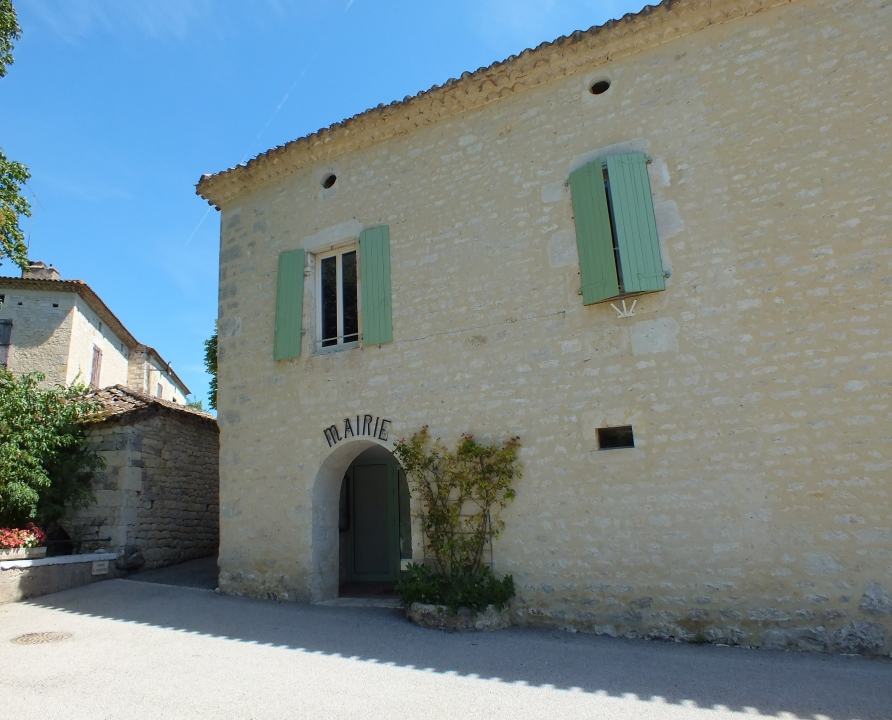 Mairies - Belmontet (Montcuq-en-Quercy-Blanc) - Mairie (bourg) -
