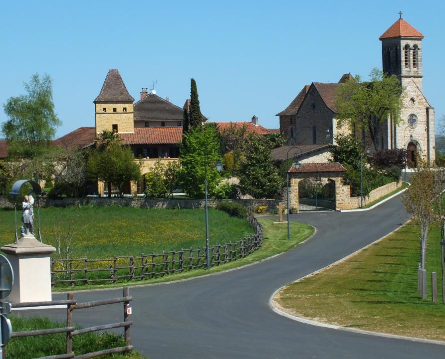 Rues & Ruelles - Saint-Jean-Mirabel - Dans les rues du bourg -