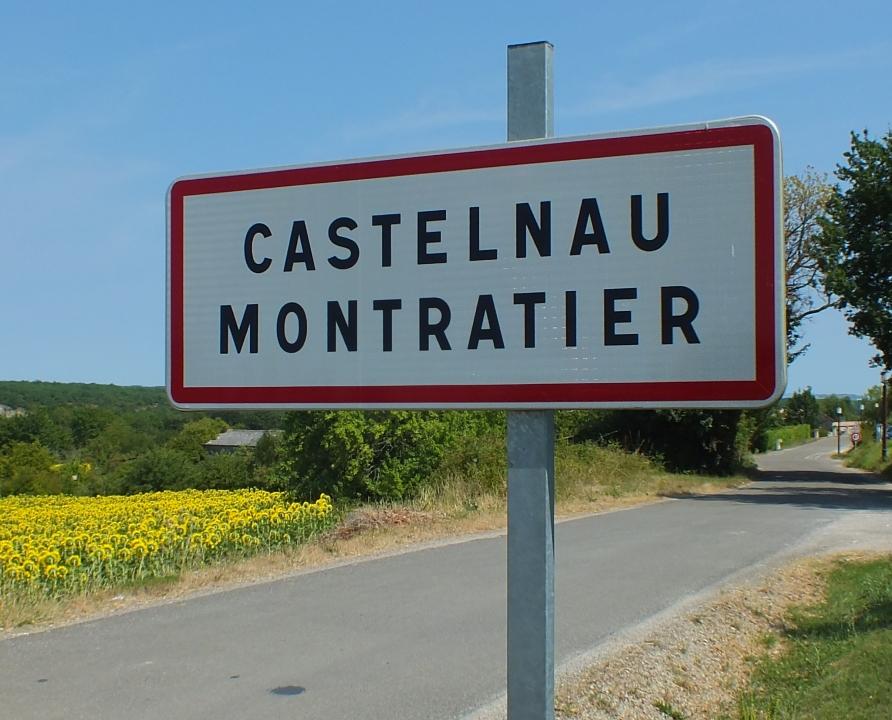Communes - Castelnau-Montratier - - Panneau du village de Castelnau-Montratier