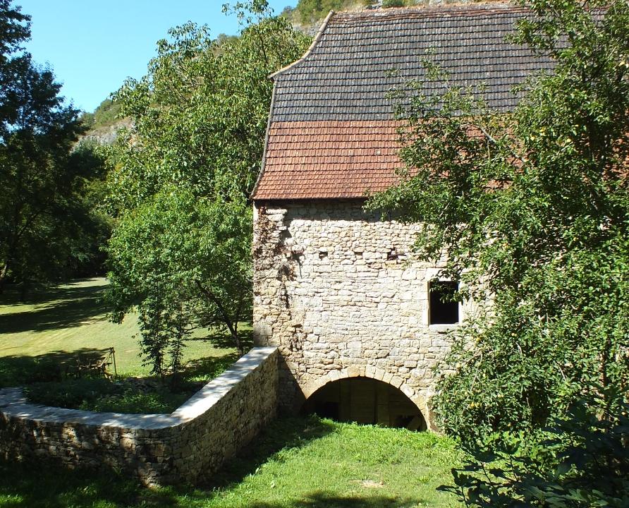 Moulin à eau - Corn - Moulin de Cavarrot -