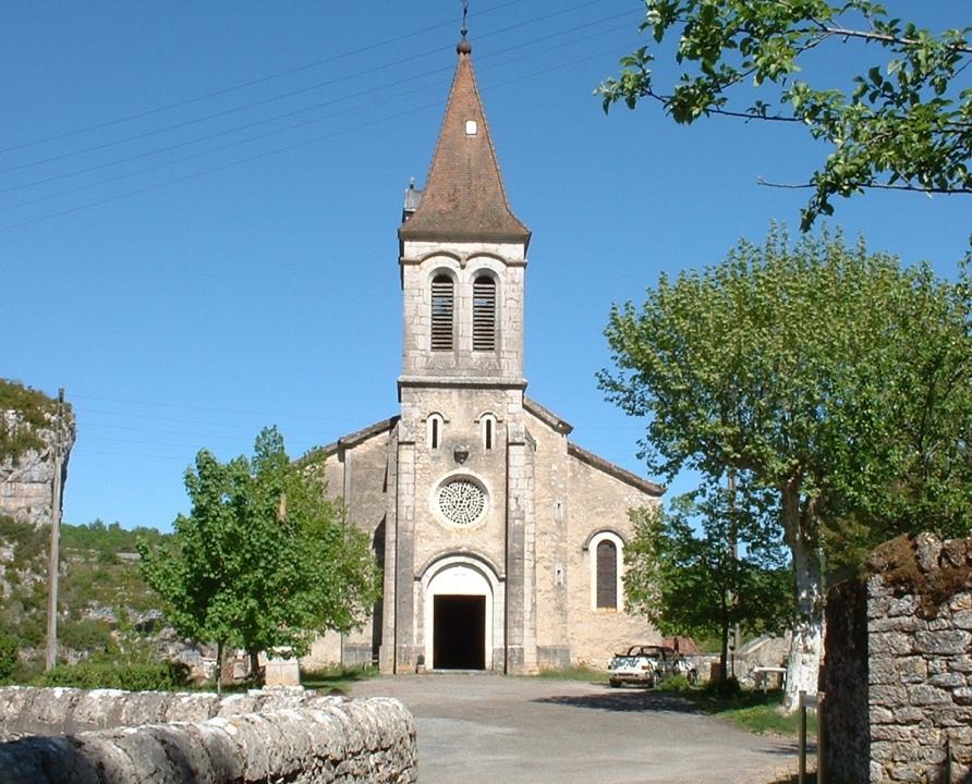 Églises & Abbayes - Cabrerets - Église (bourg) -