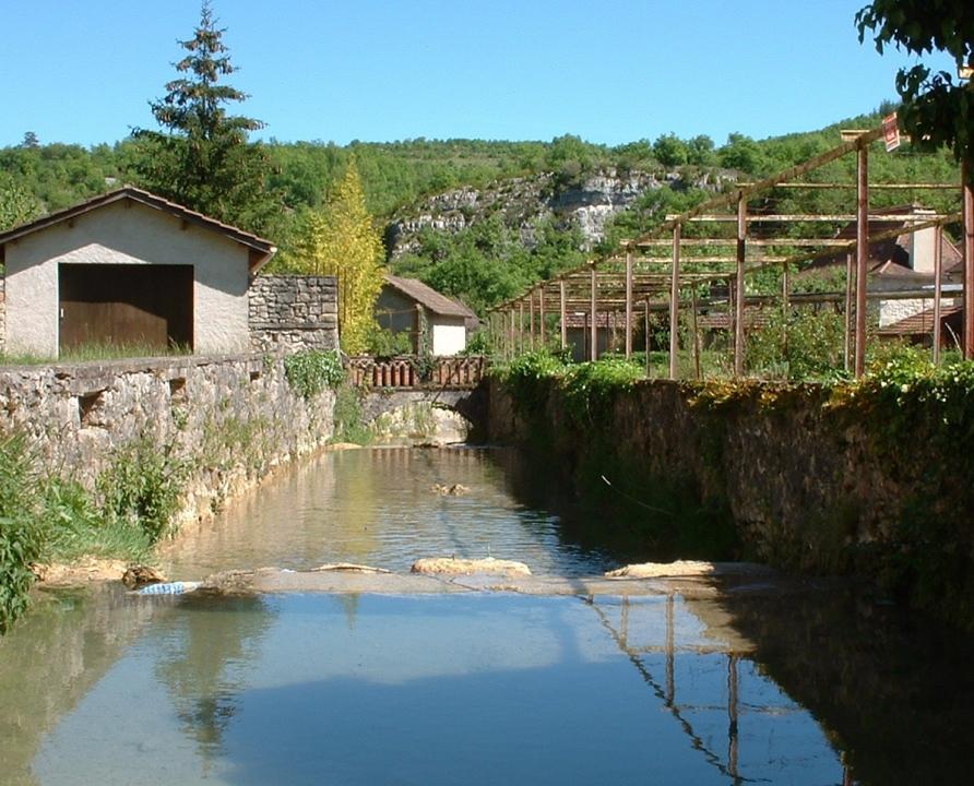 Rivières & Ruisseaux - Cabrerets - La Sagne (Bourg) -