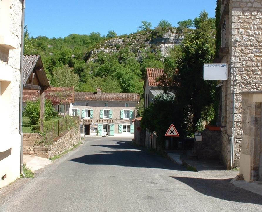Rues & Ruelles - Cabrerets - Dans les rues du bourg -