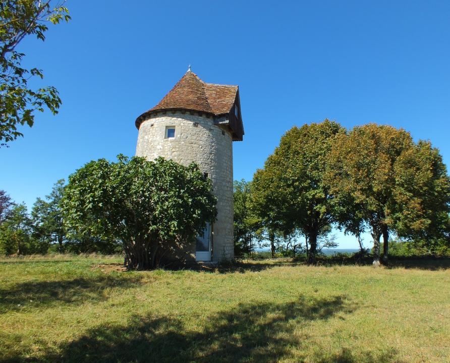 Moulin à vent - Soulomès - Ancien moulin à vent -