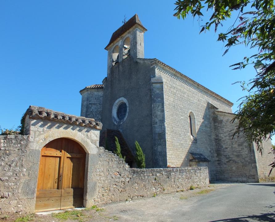 Églises & Abbayes - Villesèque - Église Saint-Michel (bourg) -