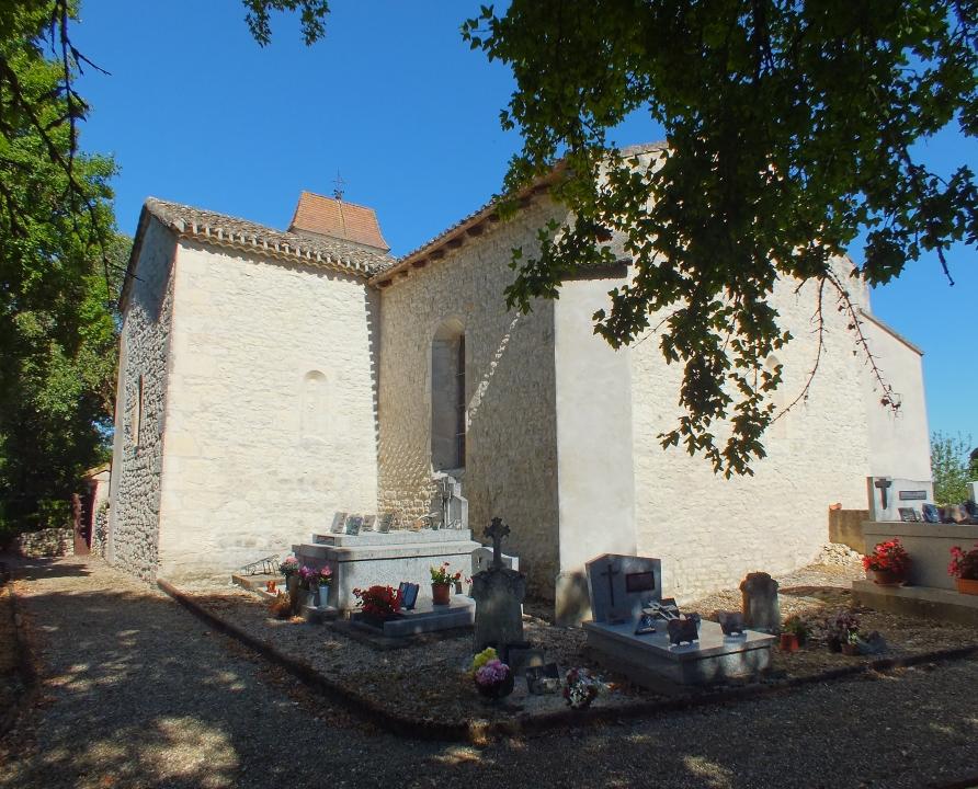 Églises & Abbayes - Villesèque - Église Sainte-Marie-Madeleine (La Rouquette) -