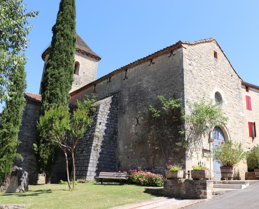 Églises & Abbayes - Nuzéjouls - Église Saint-Martin (bourg) -