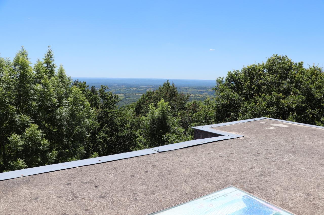 Points de vue - Saint-Bressou - Tour d'observation du Pic de Saint-Bressou -