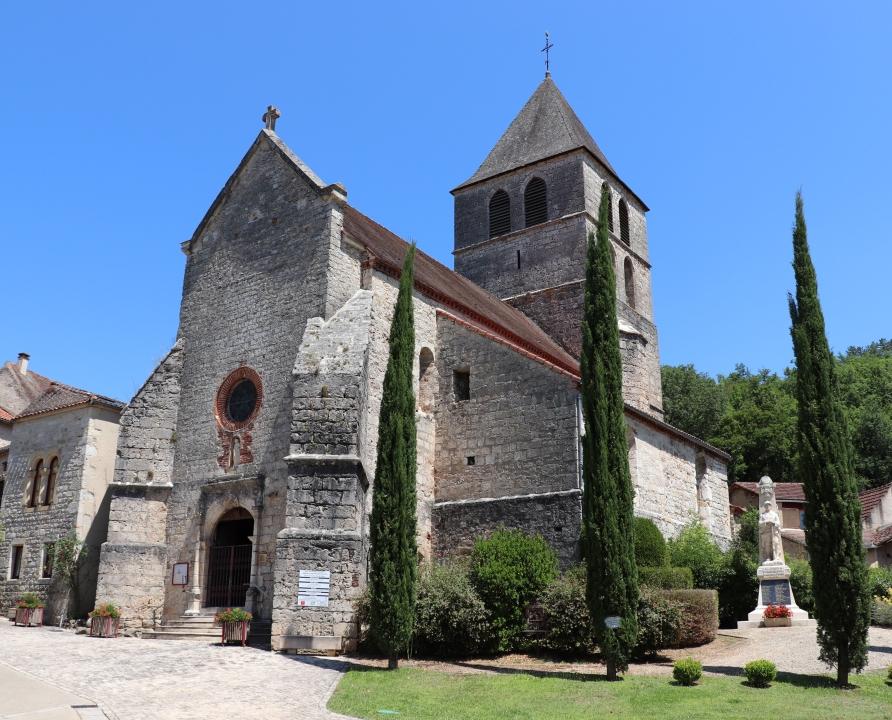 Églises & Abbayes - Saint-Vincent-Rive d'Olt - Église Saint-Vincent (Bourg) -