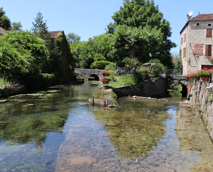 Rivières & Ruisseaux - Saint-Vincent-Rive d'Olt - Ruisseau de Bondoire (bourg) -
