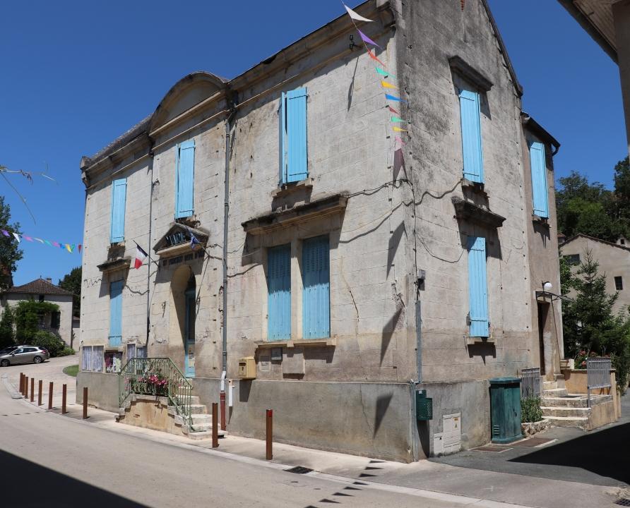 Mairies - Saint-Vincent-Rive d'Olt - Mairie (bourg) -
