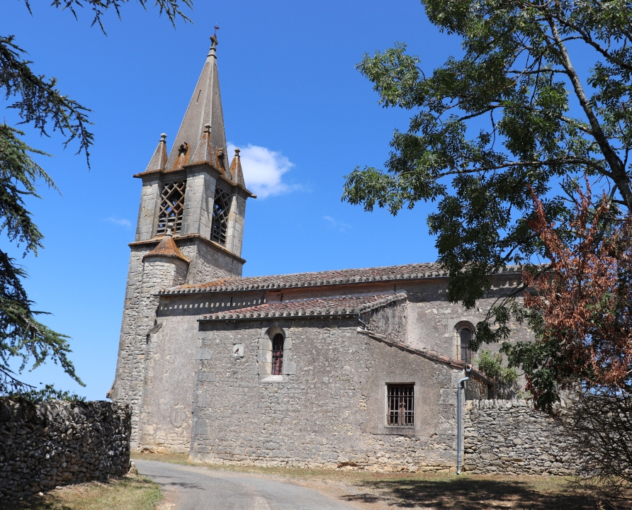 Églises & Abbayes - Saint-Vincent-Rive d'Olt - Église des Roques -