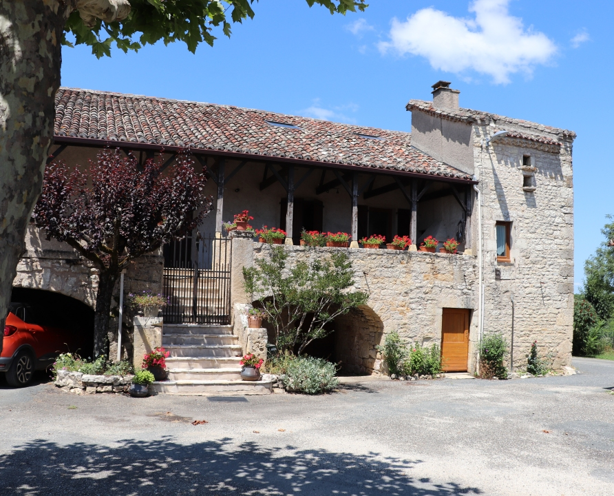 Demeures & Manoirs - Saint-Vincent-Rive d'Olt - Belles demeures (Les Roques) -