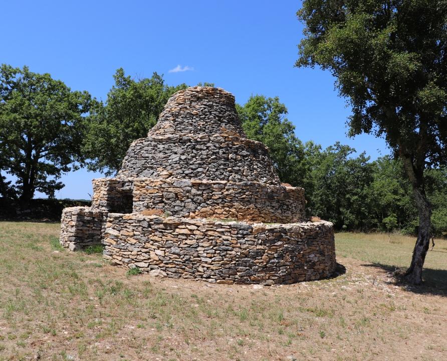 Cazelles & Gariottes - Saint-Vincent-Rive d'Olt - Cazelle à degré des Roques -