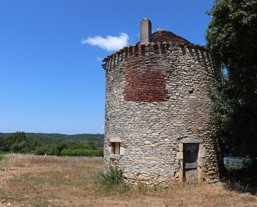 Pigeonniers & Colombiers - Saint-Vincent-Rive d'Olt - Pigeonnier (Les Roques) -