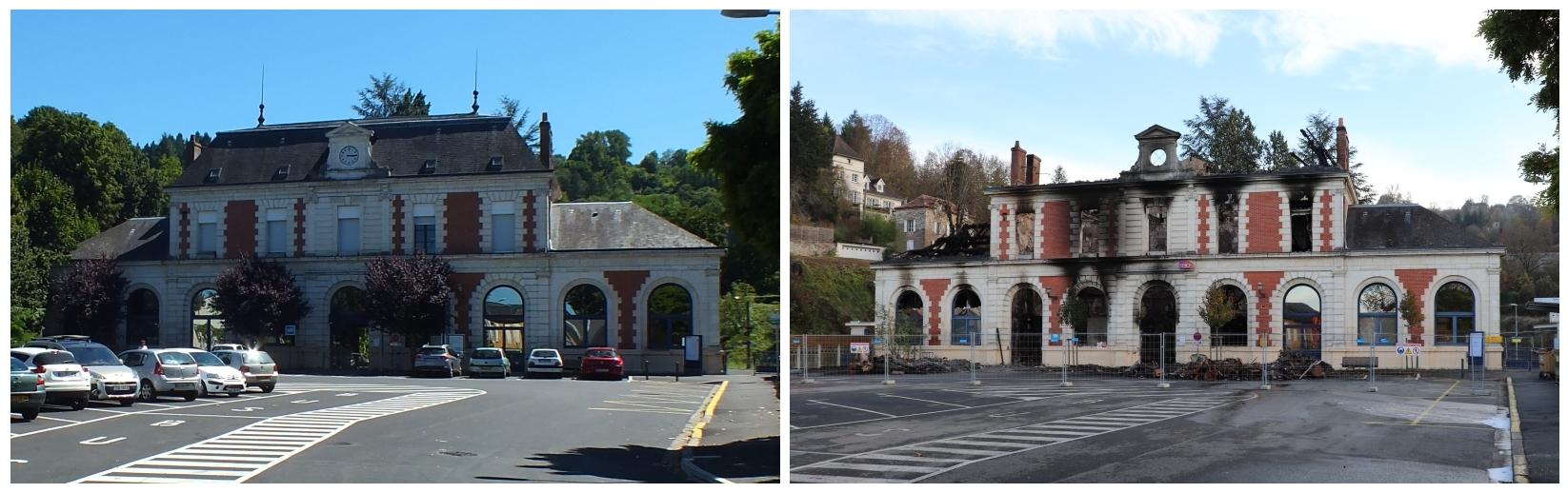 Gare ferroviaire de Figeac dans le Lot - LOT'refois - Photo 2013 - Photo 2018