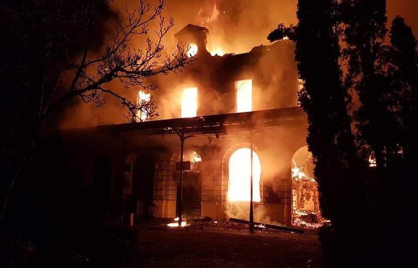 Incendie de la Gare de Figeac - 22 novembre 2018