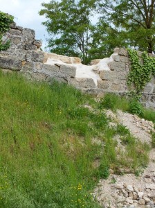 Sécurisation des remparts de Figeac à la suite de l'éboulement en Mars 2013 - 001