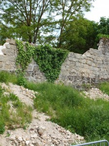 Sécurisation des remparts de Figeac à la suite de l'éboulement en Mars 2013 - 005