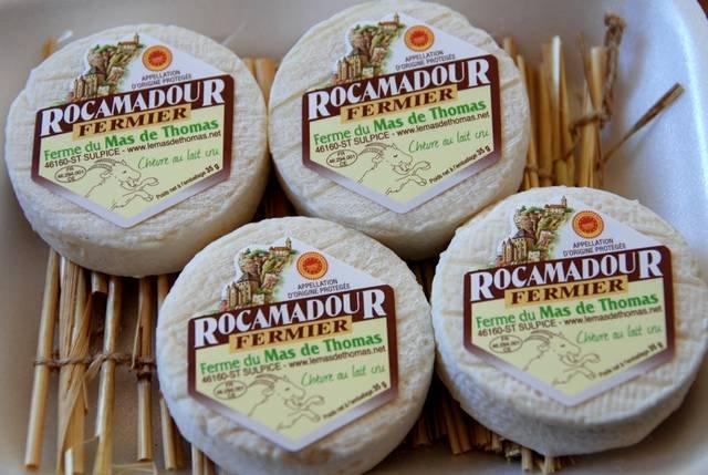 Fromage Rocamadour - Mas de Thomas