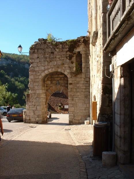 Rocamadour. Porte Hugon - Vue intérieure - Auteur : Yann LESELLIER