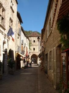 Rocamadour. Rue de la Couronnerie - Auteur : Yann LESELLIER