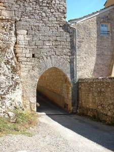 Rocamadour. Porte Cabilières - Auteur : Yann LESELLIER