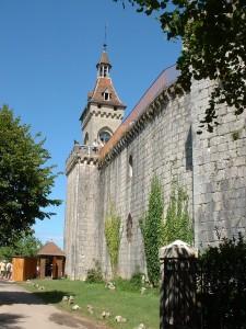 Rocamadour. Les Remparts - Vue Nord Ouest - Auteur : Yann LESELLIER