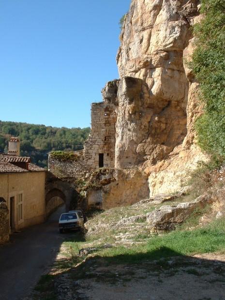 Rocamadour. Porte Cabilières - Vue Extérieure - Auteur : Yann LESELLIER