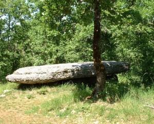 Dolmen de La Peyre Lévade à Laramière