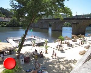 La baignade dans le Lot à Cahors-plage
