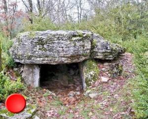 Dolmen du Pech de Gadal à Sauliac-sur-Célé