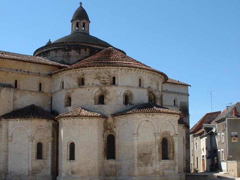 L'abbatiale Saint-Marie à Souillac dans le Lot