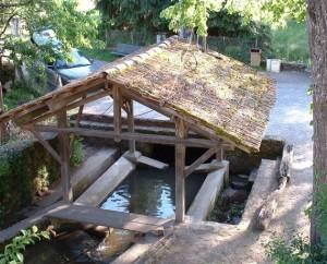 Lavoir du village de Cardaillac dans le Lot