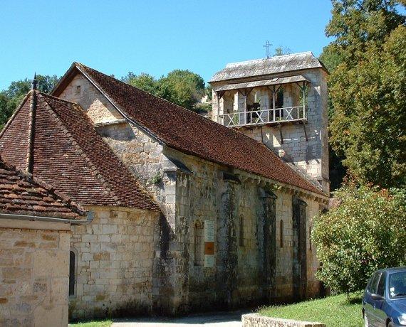 Église Notre-Dame-de-la-Nativité à Cazillac (Lasvaux) dans le Lot