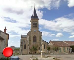 Église Saint-Jean-Baptiste à Concots dans le Lot (Bourg)