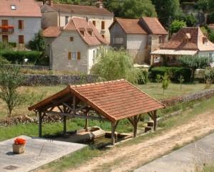 Lavoir à Sabadel-Lauzès dans le Lot