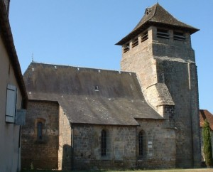 Église Saint-Martin à Anglars dans le Lot