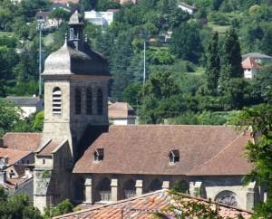 Église Saint-Sauveur à Figeac (rue du Chapitre) dans le Lot