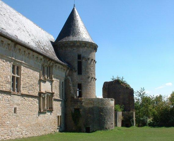 Château de Galiot de Genouillac à Assier dans le Lot