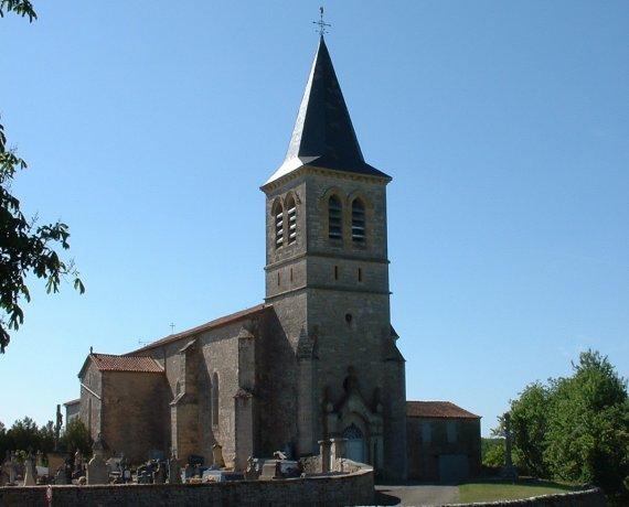 Église Notre-Dame de l'Assomption à Beauregard (bourg) dans le Lot