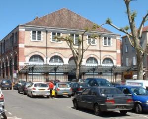 Halle de Cahors (place Galdémar) dans le Lot