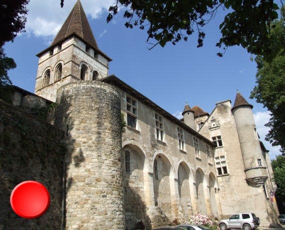 Église Saint-Pierre à Carennac (bourg) dans le Lot